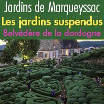 Les Rendez-vous<br>des jardins suspendus<br>de Marqueyssac<br>Dordogne