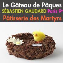 Paris<br>Héritage et innovation<br>Création de Pâques<br>Sébastien Gaudard