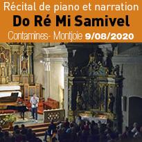 Soirée récital de piano à la station des Contamines- Montjoie