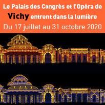 Le Palais des Congrès et l'Opéra de Vichy entrent dans la lumière