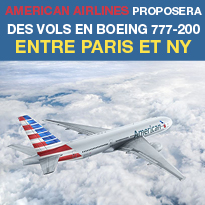 American<br>Airlaines<br>le confort<br>exceptionnel