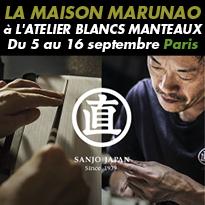 La maison<br>Marunao<br>à l'Atelier<br>Blancs<br>Manteaux