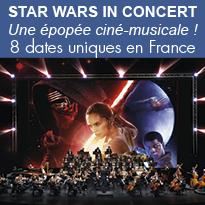 STAR WARS<br>en concert<br>en France