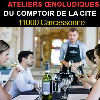 Evenements<br>automne<br>Comptoir<br>de la Cité<br>Carcassonne