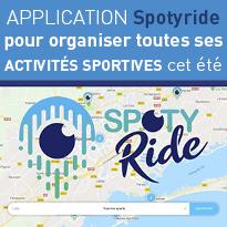 L'application<br>Spotyride<br>pour organiser<br>un été<br>sportif