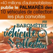 Le palmarès des 10 véhicules de collection les plus convoités