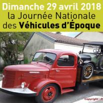 Le 29 avril<br>Journée Nationale<br>des Véhicules d'Epoque