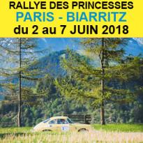 RALLYE DES PRINCESSES 2018<br>inédit<br>PARIS<br>BIARRITZ