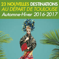 Toulouse-Blagnac<br>23 nouvelles<br> destinations <br>pour découvrir l'Europe<br>cet hiver.