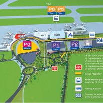 AÉROPORT TOULOUSE-BLAGNAC <br> UN PARKING «&nbsp;ARRET MINUTE&nbsp;»