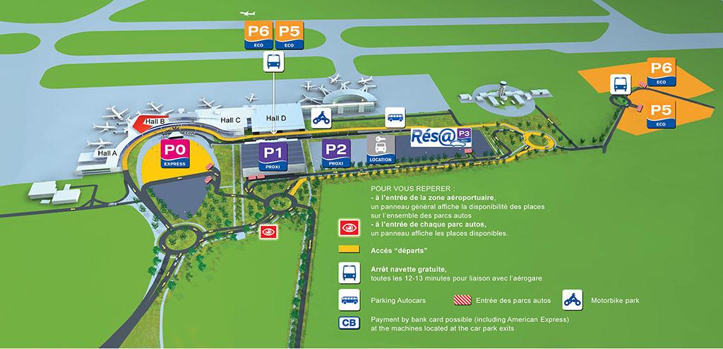 blagnac airport parking