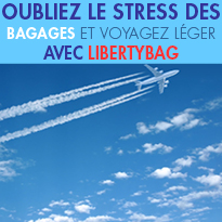 Pour voyager léger !<br>avec LibertyBag