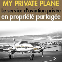 My Private Plane<br>1er service<br>d'aviation privée