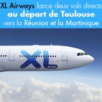 XL Airways<br>c'est la compagnie française<br>des bons plans !