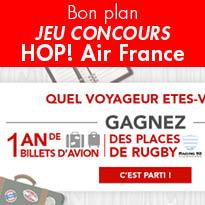 HOP! Air France<br>lance<br>son jeu concours<br>« Quel voyageur<br>êtes-vous ? »
