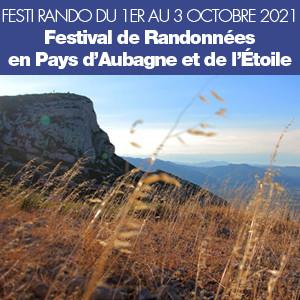 Festi Rando du 1er au 3 octobre 2021 à Aubagne