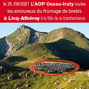 fête de la transhumance à Licq-Athérey le 25 septembre 2021