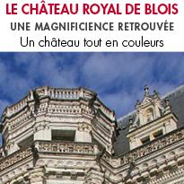 Le Château Royal de Blois <br>vous ouvre les portes <br> du Val de Loire