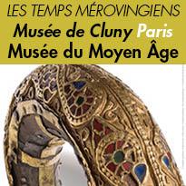 Exposition<br>Les Temps mérovingiens<br>jusqu'au<br>au 13 février 2017<br>Musée de Cluny