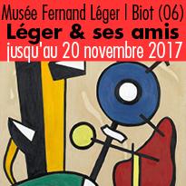 Biot (06)<br>exposition<br>Vis-à-vis.<br>Fernand Léger<br>et ses amis