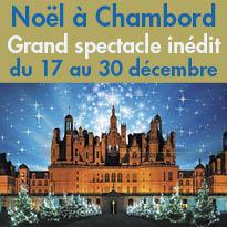 Le domaine national<br>de Chambord<br>se prépare<br>à célébrer<br>les fêtes de fin d'année