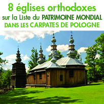 Huit Eglises orthodoxes en bois<br> sur la Liste du patrimoine mondial !