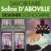 Soline d'Aboville <br>designer<br>scénographe