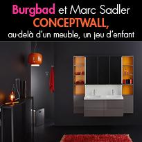 Burgbad<br>réinterprétation du meuble<br>signée Marc Sadler