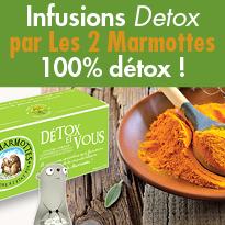 Cure Detox<br>Detox et vous<br>par les 2 marmottes
