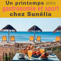 Bons plans<br>gastronomie<br>et sport<br>chez Sunêlia