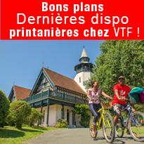 bons plans<br>VTF<br>propose<br>de nombreuses<br>destinations
