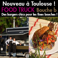 Nouveau <br>Food Truck<br> à Toulouse !<br>Bouche b