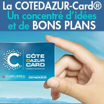BON PLAN 2014<br>La COTEDAZUR-Card®<br>carte–passeport électronique pré-payé