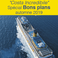 « Costa Incredibile »<br>les Bons plans<br>automne 2019 !