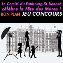 Le Comité du Faubourg<br>St-Honoré célèbre<br>la Fête des Mères !