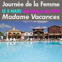 Bon Plan<br>Séjours<br>Madame Vacances<br>dès 99 €