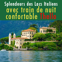 L'Italie<br>du nord<br>avec Thello