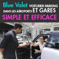 Blue Valet<br>Le bon plan<br>pour se garer<br>sans stresser