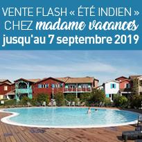 Bons plans<br>chez<br>madame<br>vacances<br>jusqu'au<br>7 septembre 2019