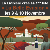 Un week-end d'exception<br>au cœur du village<br>de La Livinière et son terroir !