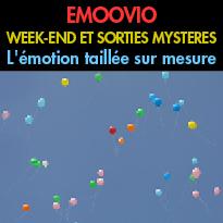 EMOOVIO<br>WEEK-END<br>ET SORTIES MYSTERES