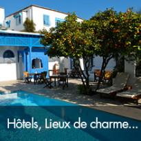Hôtels, lieux de charme