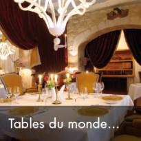 Tables du monde