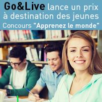 Go&Live<br>lance<br>le « Prix Go&Live<br>Apprenez<br>le monde »