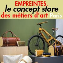 EMPREINTES,<br>le concept store<br>des métiers d'art<br>Paris