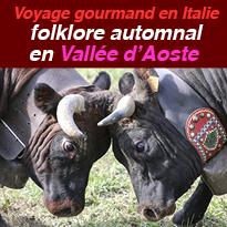 Folklore<br>automnal<br>en Vallée<br>d'Aoste