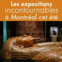 Les expositions<br>incontournables<br>à Montréal<br>cet été