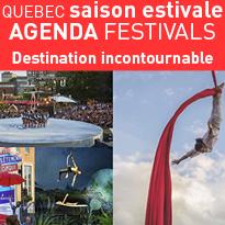 Destination<br>Quebec<br>Agenda