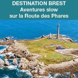 Brest, aventures slow sur la Route des Phares