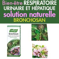 Bronchosan<br>pour le bien-être<br>respiratoire,<br>urinaire <br>et hépatique
